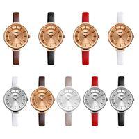 al por mayor women leather watches daniel wellington-Reloj de la marca de fábrica de lujo de la marca de fábrica de lujo del cuarzo de la manera Relojes esqueléticos huecos con estilo únicos relojes del cuero del deporte de la señora reloj del daniel wellington de la pulsera