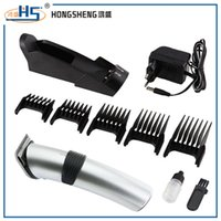 Wholesale safe design electric baby hair trimmer beautiful appearance professional cordless mini baby hair clipper with base