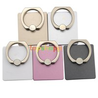 Wholesale For Phone Holder Degree Ring Cell Phone Alloy Metal Ring for iPhone s Plus SAMSUNG iPad iPad Card Holders Mounts