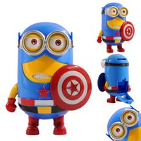 Wholesale Small Yellow Captain America Store Money Cans Children s Creative Educational Toys