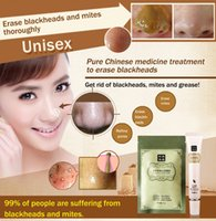 Wholesale Brand Face Skin Care Set T Zone Chinese Medicine Plant Acne Blackhead Reomver Powder Nose Mask g Shrink Pores Essence Cream g