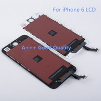 Wholesale Grade AAA quality inch replacement screen lcd for iphone display with digitizer assembly touch screen for iphone6 spare parts