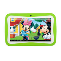 best tablet for children - 7 inch Kids Education Tablets Android Mini Tablet PC RK3126 Dual Camera Bluetooth MB GB Games Apps Best Gifts for Children