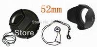Grossiste-52mm center pinch Snap-on couvercle cap + lentille cap ligne + capot objectif 52mm Livraison gratuite