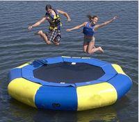 big bounce trampolines - 4M Diameter Inflatable Water Trampoline Bounce Swim Platform Lake Toy