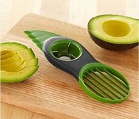avocado butter - Avocado Cut Tools Shea Butter Knife Pulp Separator Three Function In One Fruit Knife Safely Creative Kitchen Gadgets
