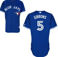 Cheap Baseball 5 John Gibbons Jersey Best Men Short Toronto blue jays Authentic Home John Gi