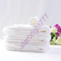 Wholesale 2017 large Three layers Ecology Diaper baby cotton Diaper washable Breathable Reusable No fluorescent agent Diaper for infant cm