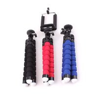 Wholesale Hot Mini Flexible Octopus Tripod Bracket Holder Mount Octopus Bracket For Cell Phone Camera For iPhone