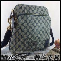 Wholesale Sales blue pvc famous luxury brand G shoulder Cross Body bag men MESSENGER bag designer Satchel women pouch purse coregoal2008