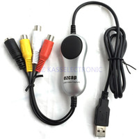 Wholesale New USB Audio Video Grabber Card convert audio video to pc for windows7