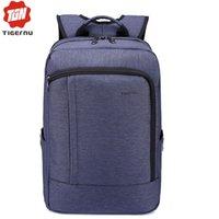 Wholesale DHL Fedex Notebook Bag Tigernu Laptop Backpack Bag for Laptop Inch Laptop Waterproof Bags Business School Backpack