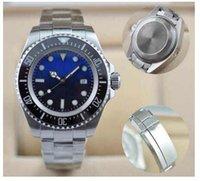 Sport aa sapphire - 2017 AA new mens watch wristwatch ceramic bezel original clasp sapphire glass stainless steel d BLUE quality sewdweller limited