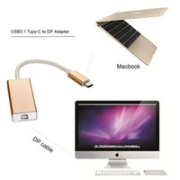 Wholesale USB Type C to Display Port DP p HDTV Adapter Cable for Macbook Chromnook