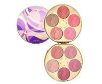 Wholesale 1pcs Presell Newest Tarte Clay Blush Palette Color Wheel Blusher Eyeshadow Highlighter Colors Limited Edition