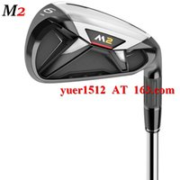 Wholesale 2016 Golf M2 Irons Set PS With Golf Original Graphite Shaft or Steel Shaft M Clubs