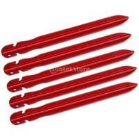 aluminium awning - New Arrivals V shape Aluminium Awning Tent Pegs Grounding Stakes Camping Outdoor