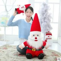 activity toys direct - New Santa Claus doll plush toy doll doll Christmas gift activities gift prizes factory direct supply