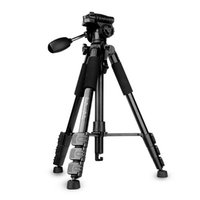 Cheap NEW QZSD Q111 Tripods Camera Accessories Professional Portable Video Photo Tripod For DSLR Digital SLR Camera DV Max Loading 3kg