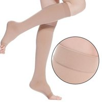 Wholesale mmHg KNEE HIGH COMPRESSION Men Women Dress Socks Relief New Sock