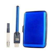 gift box metal - Gift Box CE3 Vape Pen Bud Touch Battey Ego Charger Cbd Oil Atomizer Vaporizer Pen Cartridge Electronic Cigarettes Starter Kit DHL
