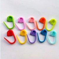 Wholesale Knitting Weave Plastic Crochet Craft Needle Clip Markers Hooks Stationery