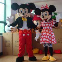 2017 La mascota de alta calidad de Minnie de la mascota de Mickey Mouse libera la fiesta de cumpleaños del envío