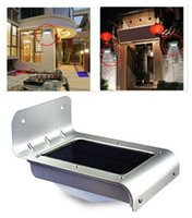 Wholesale 12 LED solar body induction lamp wall lamp sound control lamp outdoor courtyard garden lights