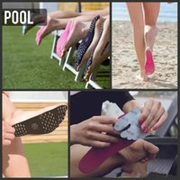 semelle pour pied achat en gros de-Nakefit Invisible Adhesive Shoes Waterproof Foot Pads Stick On Soles Flexible Feet Protection Autocollant Soles Chaussures pour Beach Pool DHL Free