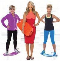 Wholesale Simply Fit Board Fitness Balance Board Professional Blue Orange Green Purple Body Shaper Yoga Plate free DHL