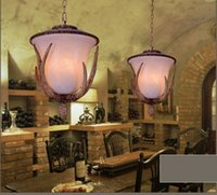 Wholesale Antlers Pendant Lights Art Deco Drop Light Vintage European Creative Personality Pendant Lamp Project Brand Design