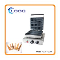 Wholesale Commercial Lolly Waffle Maker Restaurant Waffle Stick Making Machine Electric Waffle Stick Maker For