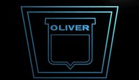 b tractor - LS931 b Oliver Tractor Neon Light Sign jpg
