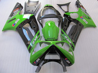 ABS Injection Mold Kawasaki New Injection Mold ABS motorcycle bike fairing kits For kawasaki ninja ZX-6R 03-04 ZX 6R 2003 2004 636 ZX6R bodywork set hot buy black green