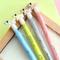Wholesale Cute dog top design mechanical pencil Kawaii pencils for writing School stationery Office supplies accessories tt