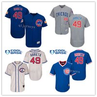 Wholesale World Series Champions patch Jake Arrieta Jersey Men s Chicago Cubs Turn Back The Clock Flexbase Collection