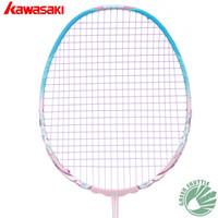 Wholesale 2017 Kawasaki Porcelain Badminton Racket Hi modulus Graphite Profesional Aerofoil Frame Raquette