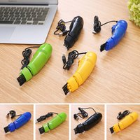 Wholesale FD Keyboard Cleaner USB Mini Vacuum Dust Clean Machine For Mouse Computer Laptop PC Macbook MBA Pro Air
