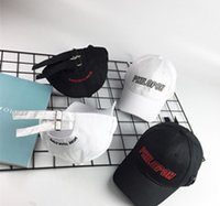 Wholesale Latters Embroidery Korea Style Baseball Hat Apply For Four Seasons Couples Peaked Cap HipHop Style Fashion Style