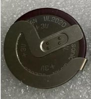 Wholesale 100 Original VL2020 Coin Type Battery For Panasonic V mAh Rechargeable For BMW Car Key Fobs With degrees solder feet
