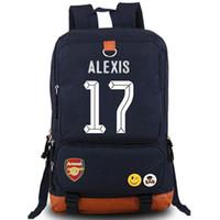 best hiking rucksack - Chile Alexis Sanchez backpack Football star school bag Soccer daypack Best player schoolbag Outdoor rucksack Sport day pack
