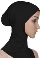 Wholesale Modal Muslim hijab European and American brand OEM bonnet caps hijab Islamic abaya Accessories and retail HM201