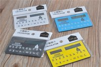 La nouvelle calculatrice solaire mini calculatrice Mini Gift Card Calculator produits de bureau portables portables