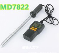 Wholesale MD7822 Digital LCD display Grain Hygrometer Thermometer Moisture Meter Humidity Temperature Tester for Wheat Corn Rice
