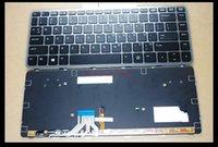 Wholesale original For HP Elitebook Folio G1 quot Laptop black US keyboard with backlit and Frame