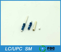 Wholesale LC UPC mm mm mm Boot Size Simplex Singlemode Fiber Optic Connector
