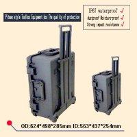 Wholesale waterproof safety equipment case trolley Tool case camera box dust proof box Plastic sealed case with pre cut foam