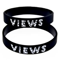 Wholesale New Arrival PC Drake Views from the Silicone Wristband Debossed Logo A Great Way To Show Your Support