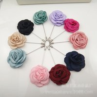 baby fonts - C Solid Ribbon Rose One Font Ladies Brooches Novelty Flower Baby Girls Pins Fashion Accessories