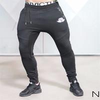 Precio de Al por mayor de la ingeniería-Venta al por mayor-2016 Ingenieros Hombre Pantalones Casual Algodón Pantalones Parte inferior Body Tracksuit Pantalones para Hombre Pantalones Correr Hombre